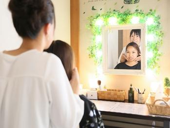 理想のお顔を一緒にイメージング | 滋賀県守山市のフェイシャルエステ