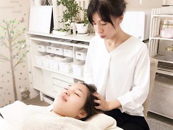 優しい圧で脳脊髄液の流れを整えます | 滋賀県守山市のフェイシャルエステ