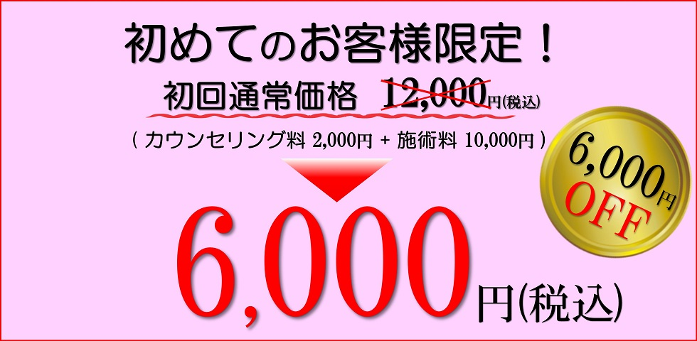 滋賀県守山市のフェイシャルエステ プリュムレーヴ 初回お試し価格 6,000円OFF